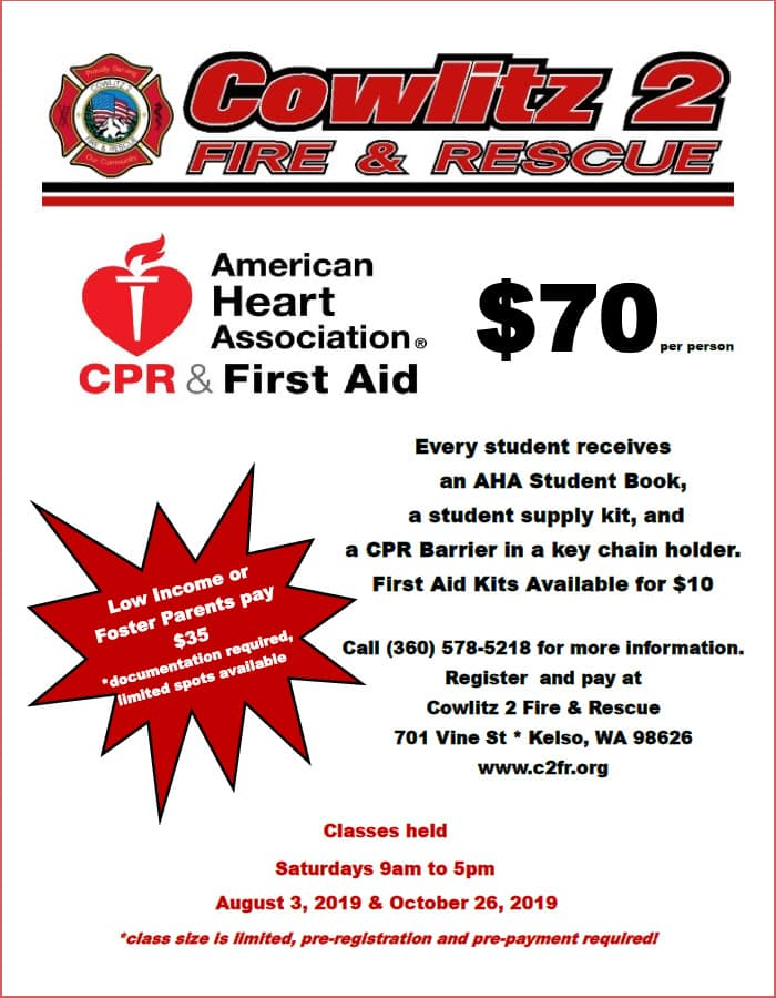 CPR and First-Aid Classes